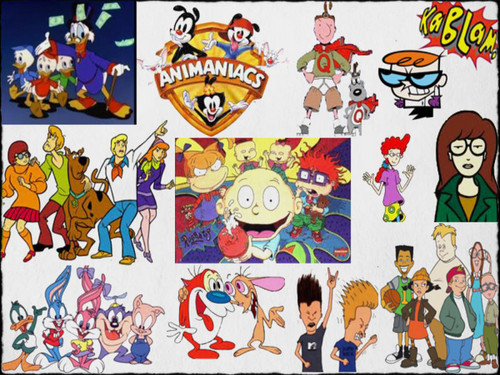 Memorable tv images 90 39 s cartoons hd wallpaper and - 90s cartoon wallpaper ...