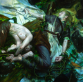 Works by Donato Giancola - mermaids fan art