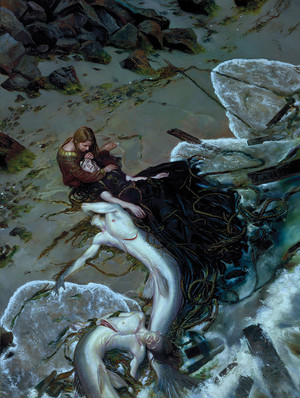 Works by Donato Giancola