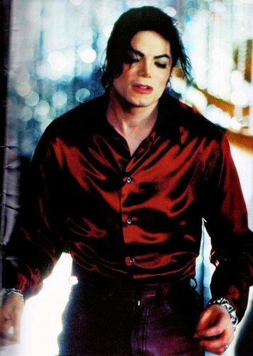 """Michael Jackson wallpaper containing an outerwear titled """"Blood On The Dancefloor"""""""