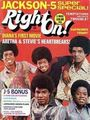 "The Jackson 5 On The Cover Of ""Right On!"" Magazine - michael-jackson photo"