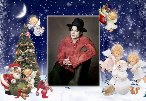 Michael Jackson wallpaper entitled Merry Christmas,Michael!