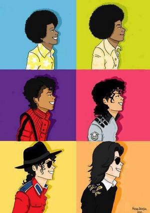 Michael Through The Years