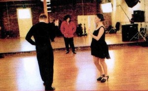 "Dance Rehearsal For ""Blood On The Dancefloor"""