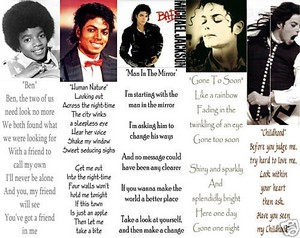 Lyrics To Some Of Michael's Hit Songs
