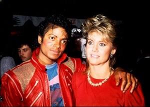 Michael And Olivia Newton-John