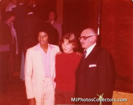 Michael With Tatum O'Neal Back In 1977