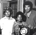 Michael And His Parents - michael-jackson photo