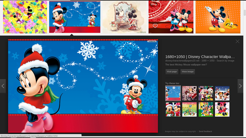 Mickey and Minnie wallpaper called Mickey and Minnie Christmas
