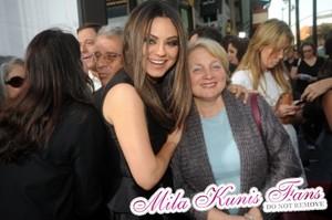 Mila Kunis and Elvira Kunis