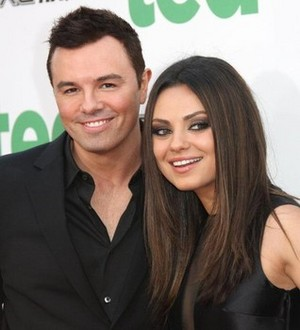 Mila and Seth MacFarlane