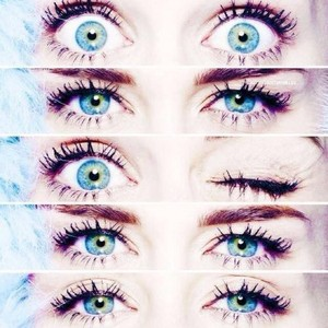 Miley's most beautiful eyes