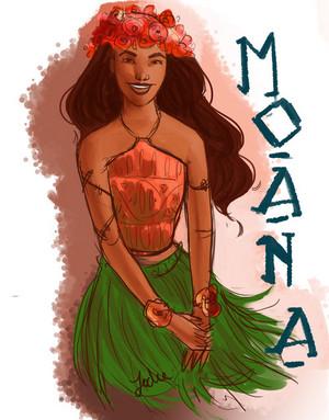 Moana fan Art