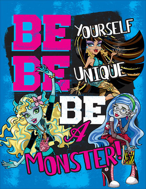 Monster High - Official motto Poster