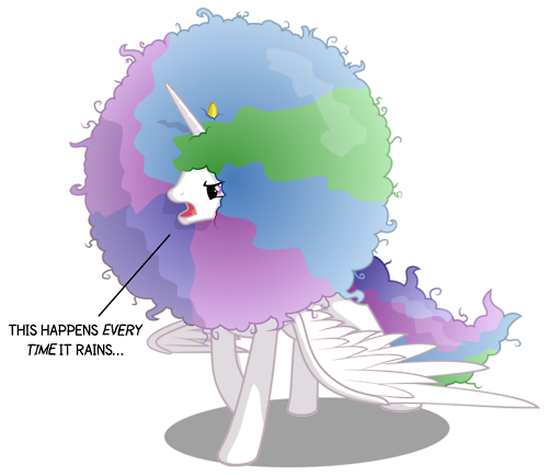 My Little poni, pony - La Magia de la Amistad fondo de pantalla called Princess Celestia's Hair
