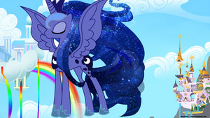Princess Luna in the Sky