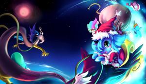 Princess Luna as Santa
