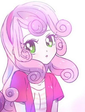 Sweetie Belle as a Human
