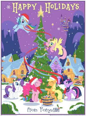 Happy Holidays from Ponyville