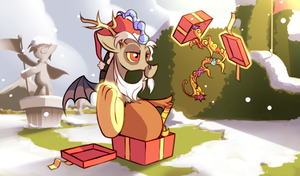 Discord Unwrapping Gifts