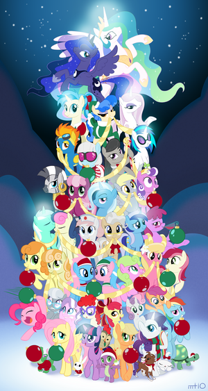 MLP Christmas Tree