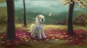 Derpy Hooves at Autumn