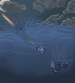 arco iris Dash:Derpy,nooooo!