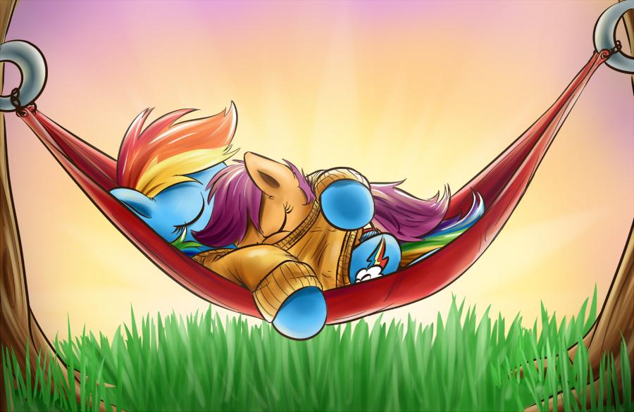 Rainbow Dash And Scootaloo Sleeping My Little Pony Friendship Is Magic Photo 36355421 Fanpop (23) equestriabound scootaloo's adventure 'scootaloo's sonic rainboom'. fanpop
