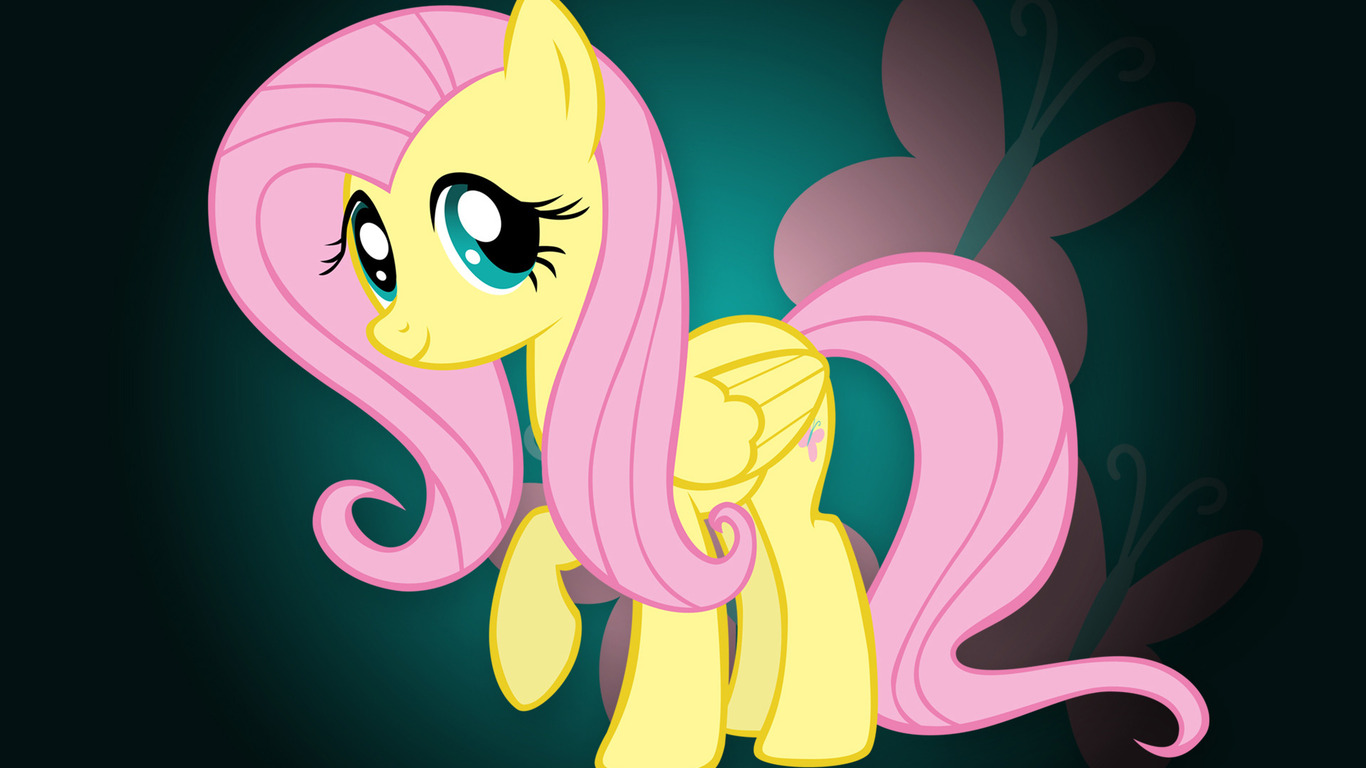Fluttershy with Hoof Out