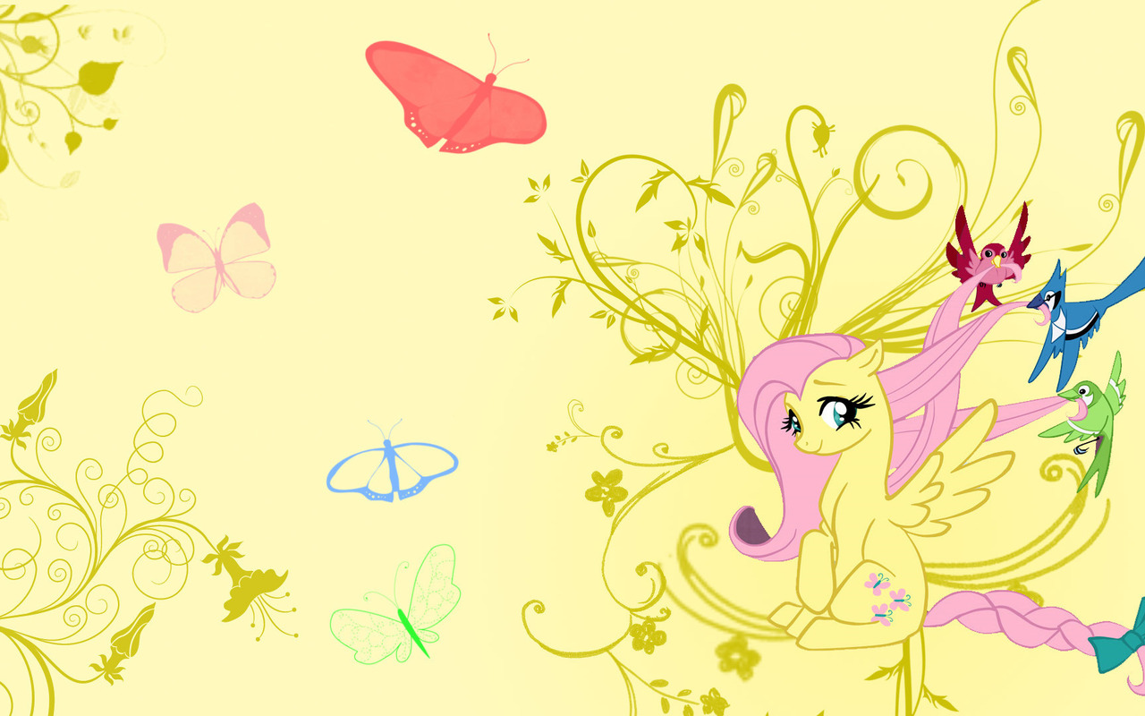 Fluttershy and Birds