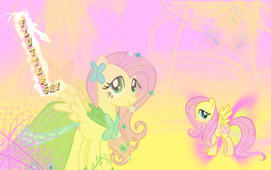 Fluttershy at the Gala