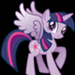Twilight as an Alicorn - my-little-pony-friendship-is-magic icon