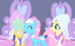 Lotus, Fluttershy, and Rarity - my-little-pony-friendship-is-magic icon
