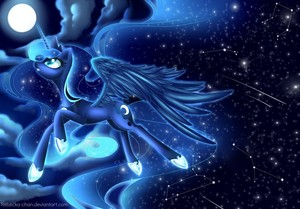 Princess Luna Galaxies