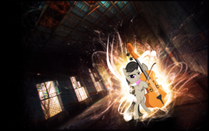 Octavia Playing the Cello