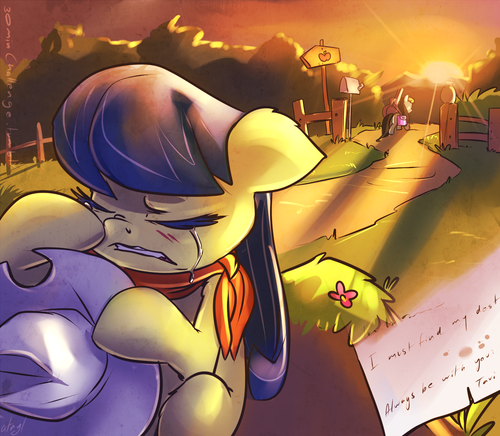 My Little Pony Friendship is Magic wallpaper containing anime entitled Sad MLP Photos