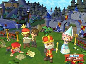 mysims kingdom wallpaper