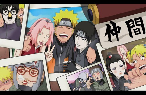 Naruto Shippuuden fond d'écran with animé entitled New Team Kakashi