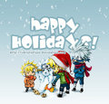 Happy holidays - naruto photo