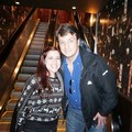 Nathan and a fan(December,2013) - nathan-fillion-and-stana-katic photo