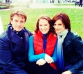 Stanathan-BTS 1x2 - nathan-fillion-and-stana-katic photo