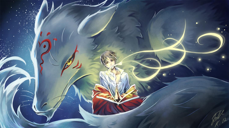 anime fox spirit wallpapers - photo #5