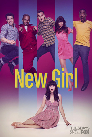 New Girl Season 3 New Poster