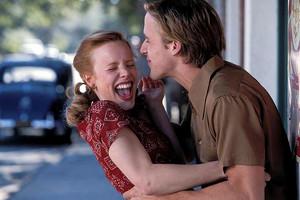 Kisses. Noah and Allie