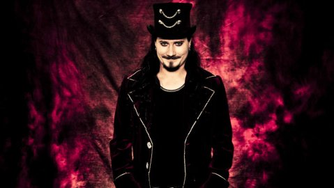 Nightwish wallpaper possibly containing a concert entitled Tuomas Holopainen, Nightwish as of 2014