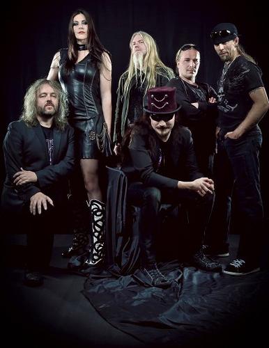 Nightwish karatasi la kupamba ukuta entitled The new Nightwish