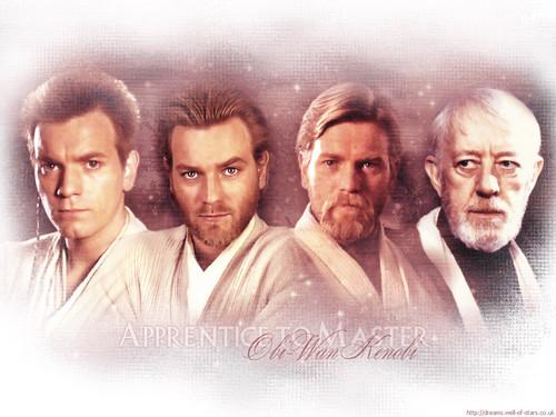 Obi-Wan Kenobi wallpaper possibly with a portrait titled Obi-Wan Kenobi
