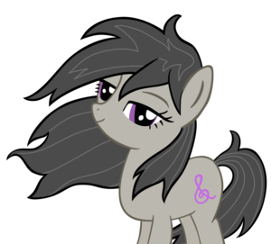 Octavia's Mane Blowing in the WInd
