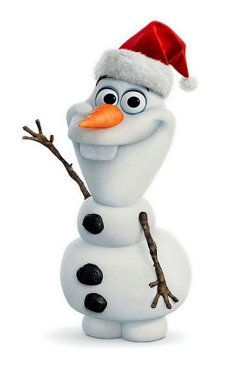 christmas frozen olaf Car Tuning