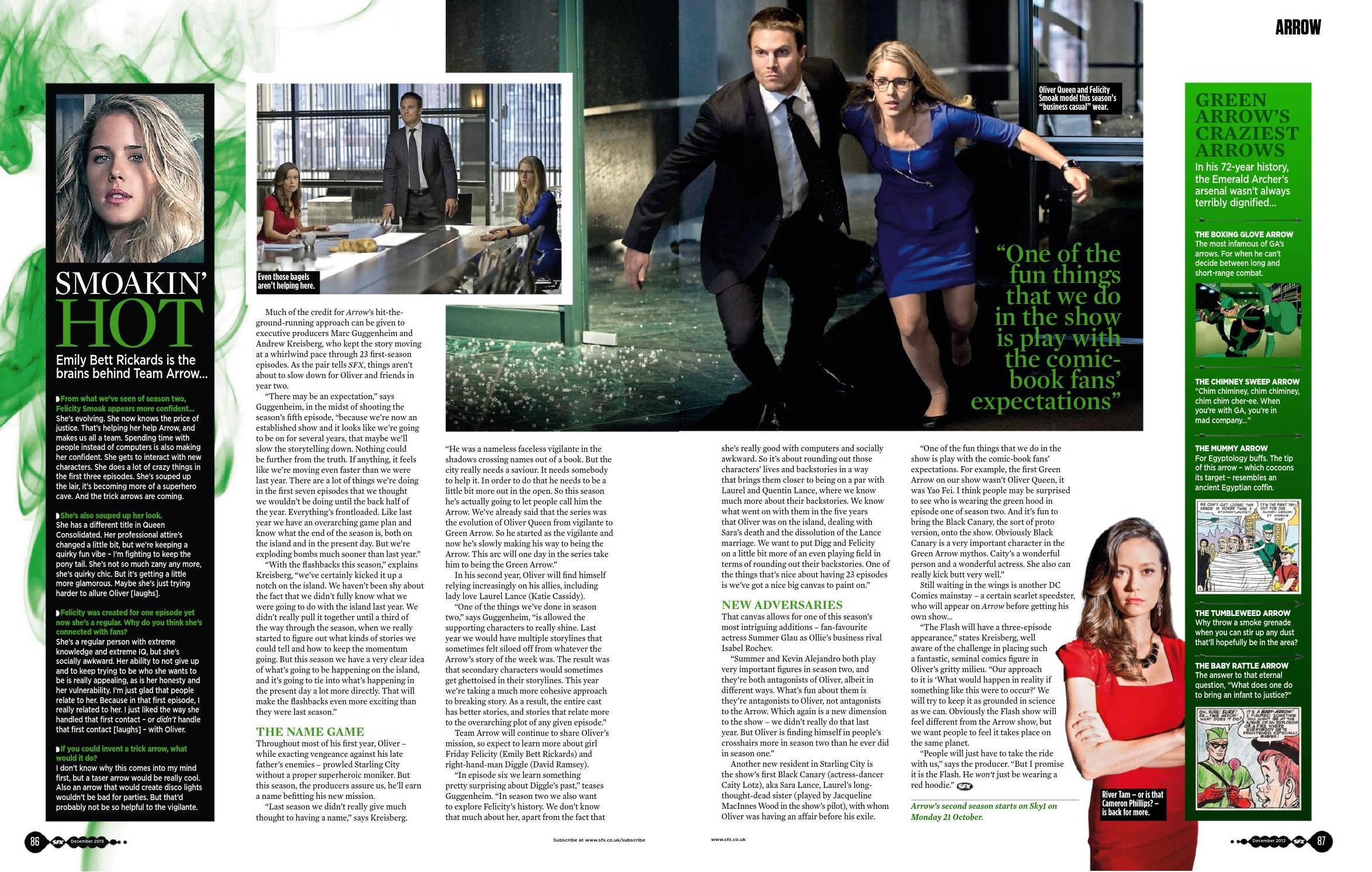 SFX mag (Dec 2013) - ARROW/アロー
